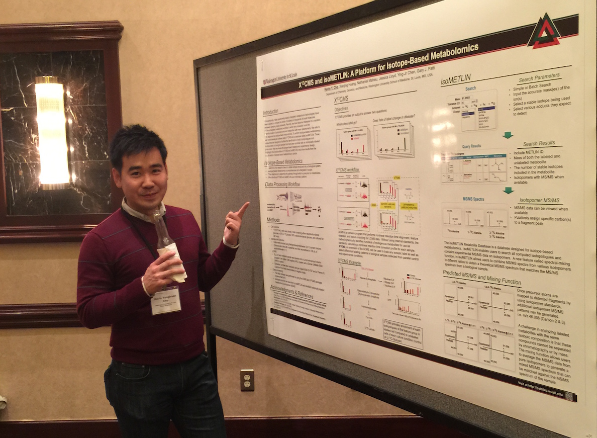 Kevin @ NIH Metabolomics Common Fund Meeting